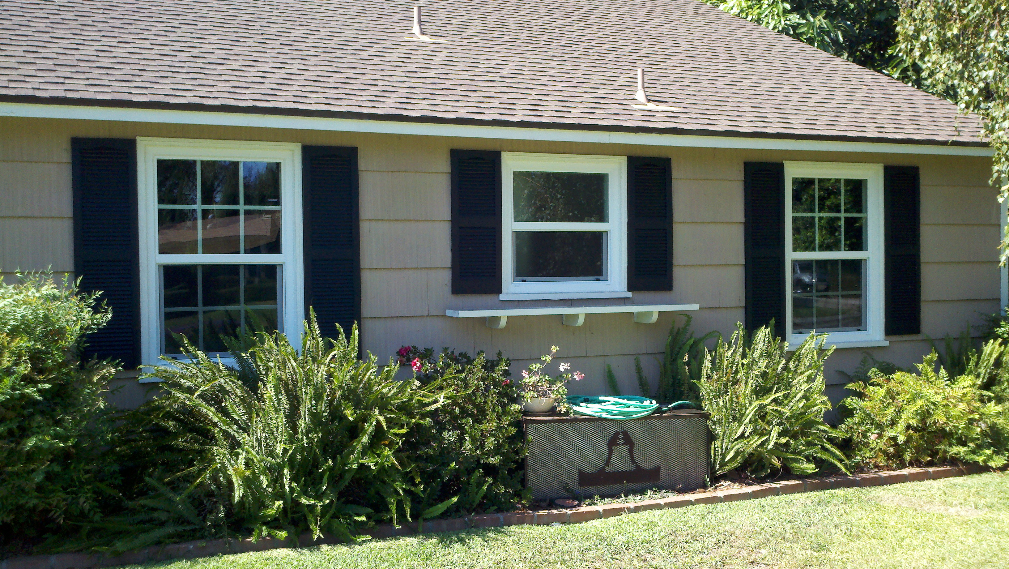 Window And Exterior Shutters Give Great Street Appeal Superior View Shutters Shade Blinds Ca Il