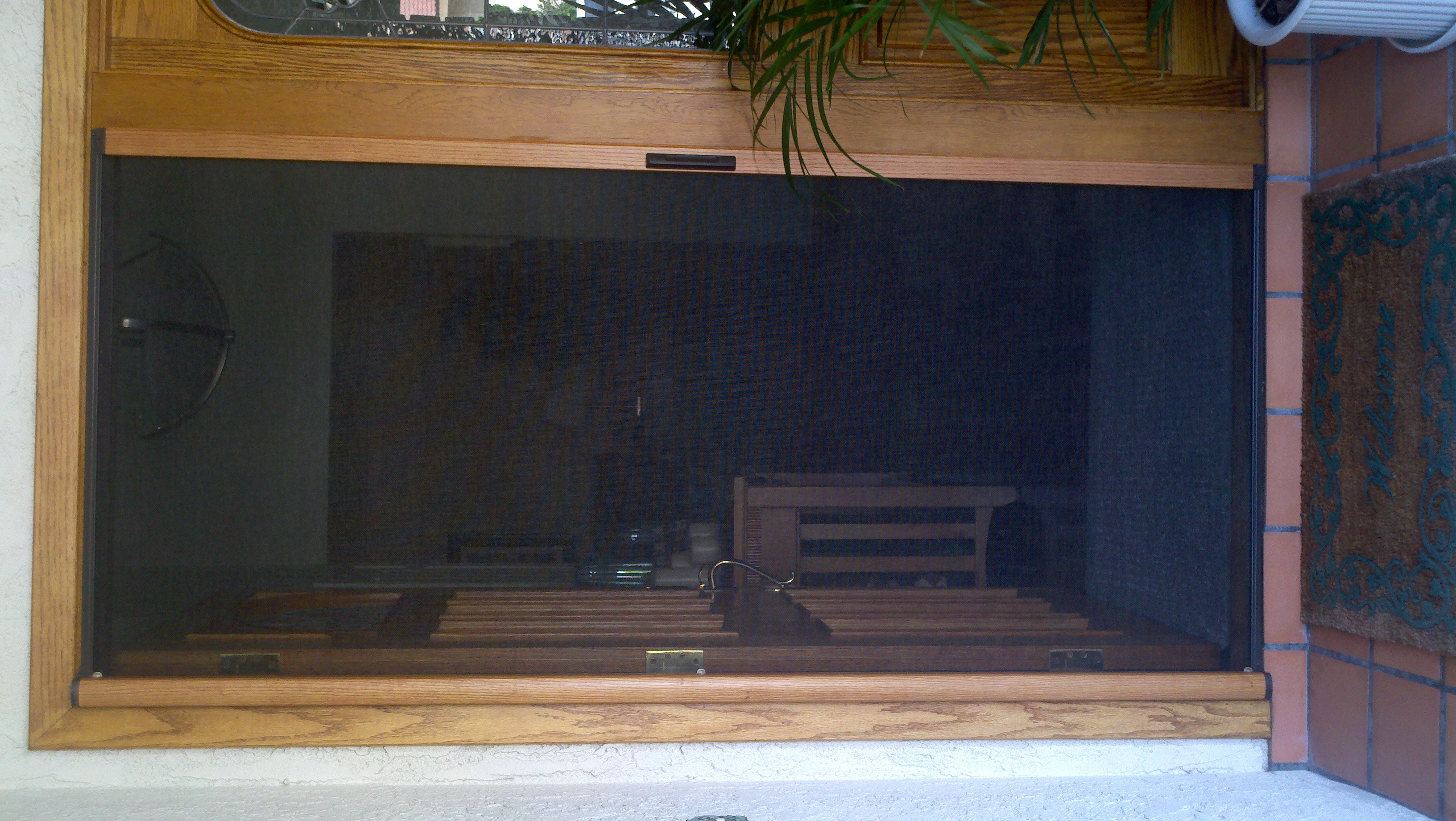 Front Door Screens Superior View Shutters Shade Blinds Ca Il